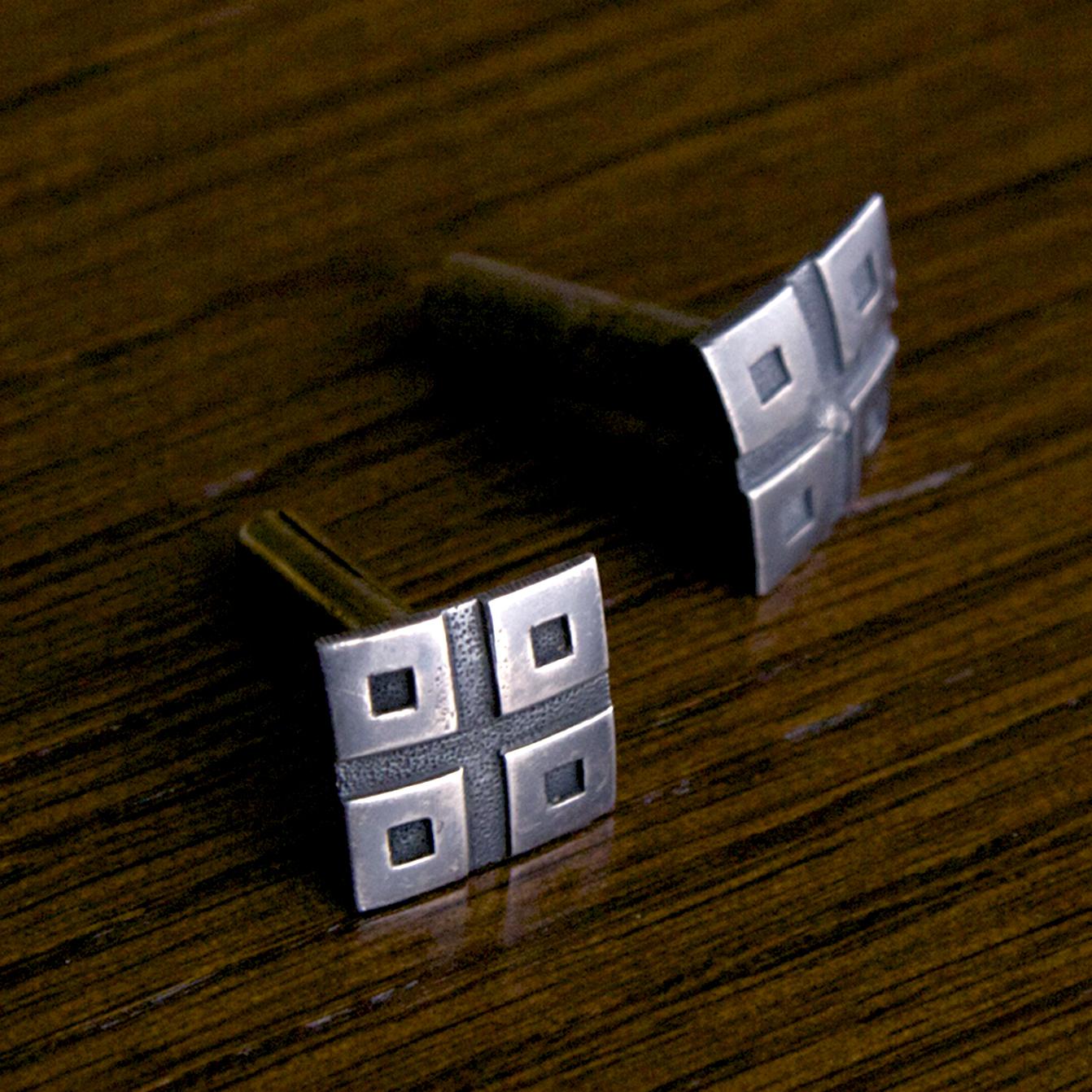 目釘金具の修理3 -  表面処理  –